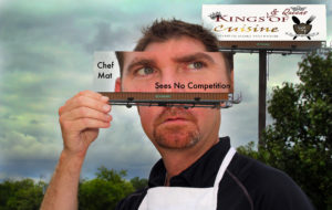 Kings of Cuisine creative shoot with Lamar Advertising