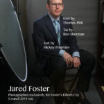 Jared Foster faux magazine cover