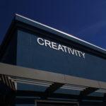 Ralph Wilson Youth Club Creativity signage