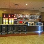 cafe inside hotel
