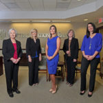 Central National Bank employee group portrait