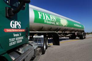 Fikes Wholesale petroleum 18 wheeler tank