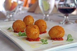 mozzarella ball appetizers