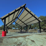 outdoor covered picnic area