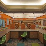 empty elementary school library