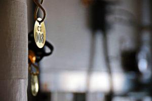 machinery tag closeup