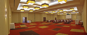 empty hotel conference room