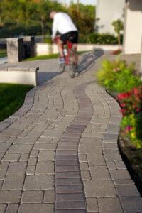 paved stone walkway