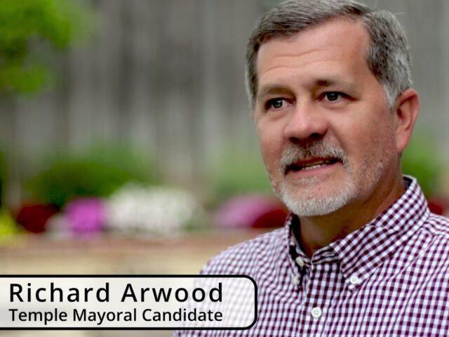 Richard Arwood for Temple mayor